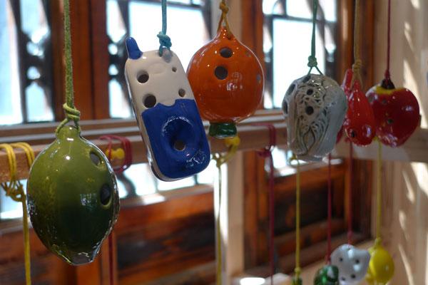 风雅陶笛造型独特品类众多高清图片